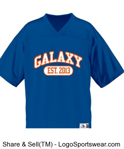 Youth Unisex Jersey - Galaxy Design Zoom